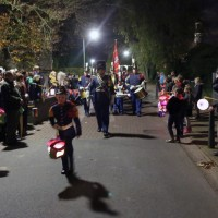 Lampionnenoptocht Sint Maartensfeest op 11 november